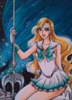 ACEO #29 Sailor Galatea by Toto-the-cat
