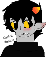 I drawed a Karkitty icon by ZashaChan