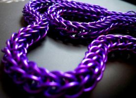 Purple Full Persian Necklace by Divulged