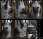 Greyscale Hyena by Sharpe19