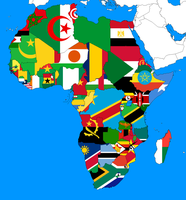 Flags of Africa by Condottiero