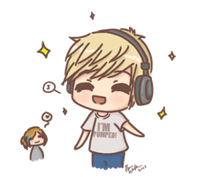 Day 2 - PewDiePie by ChibiPandaMonster