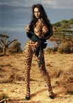 Megan Fox as a leopard by coucoucmoa