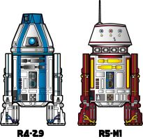 Meet R4-Z9 And R5-M1 by stourangeau