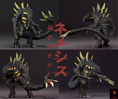 Nemesis (Poses) by The-KaijuEnthusiast