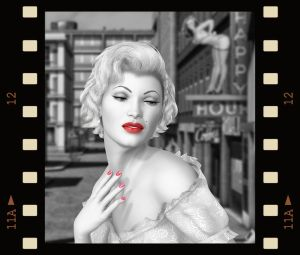 Marilyn.. by Alz-Stock