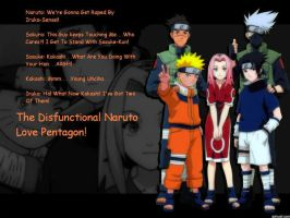Naruto Love Pentagon by Nartard101