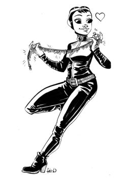 Catwoman by damnskippy