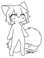 Free Tailmouth lineart by itsmar-Adopts