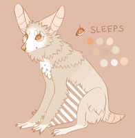 Sleeps Reference 2012-2013 by pixpixypixelface