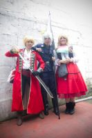 england prussia and hungary cosplay by dragongirl200021