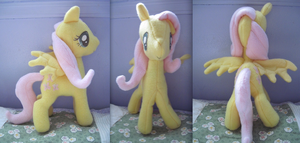 Fluttershy Plushie by Ferngirl