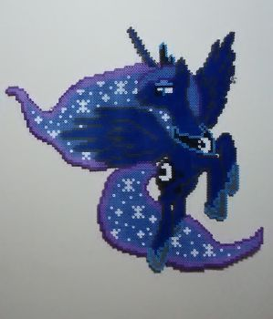 19 Inch Princess Luna Perler by Perler-Pop