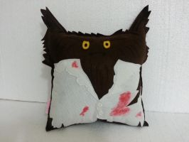 Classic Horror Movie Monster The Werewolf Pillow by RbitencourtUSA