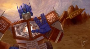 Optimus Prime by Mexiletine