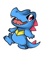 158. Totodile by ChibiTigre