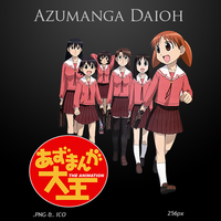 Azumanga Daioh - Anime Icon by duckne55
