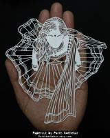 Papercut - Indian - Papercutting - Paper - Art - by ParthKothekar