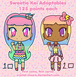 -OPEN- Sweety Kei Adoptables by Crystal-Moore