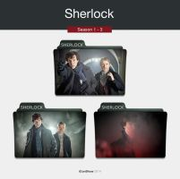 Sherlock TV Folders by iconshow