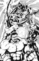 Avengers by DrSpilkus