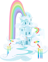 Rainbow Dash's House by TimeLordOmega