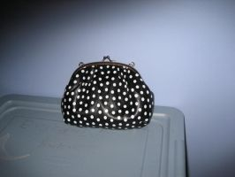 BW spotted purse 2 by SerendipityStock