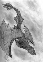 HTTYD: First Toothless Attempt by NicktoonsSquad