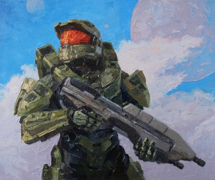 Master Chief by Lobzov