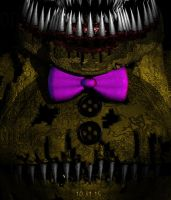 Nightmare Golden Freddy? by Dabombah