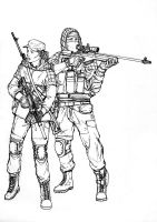 BF4 RU Recon class (line art) by ThomChen114