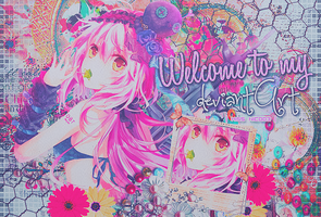 Welcome to my deviantArt  [EDIT] by CrunchybellxkLC