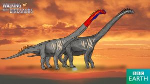 Walking with Dinosaurs: Sauroposeidon by TrefRex