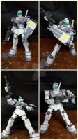 Rgm-79 GM White Dingo ver. (Gundam 0079) by BazSg