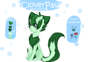 CloverPaw reference by CloverPawIsHere