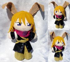 Mini Plushie, Elliot March by LadyoftheSeireitei