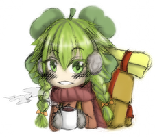 The traveller clover winter by Kaishi50