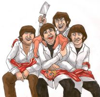 Meat the Beatles by evil-goma