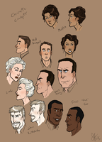 Throwback Thursday: Maelstrom Character Concepts by Capella336