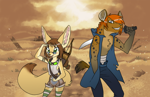 Desert Warriors by shani-hyena