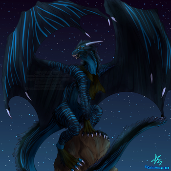 King Of Night by Bluehasia