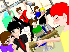 American idiot after party by ShadowsBabe432