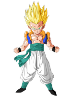 Gotrunks Super Guerrero by BardockSonic