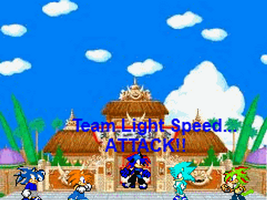 Hedgehog War Games Team Lightspeed by XXXZERO8