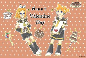 Rin and Len by Teresa337