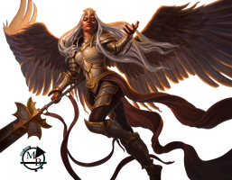 Render Angel Guardian by mauri bolso by Mauribolso