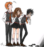 Silly Trio by arima