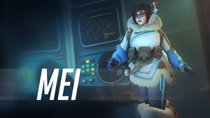 (Overwatch) Mei Wallpaper #2 by Ferexes