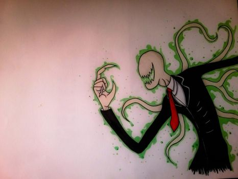 Slender Man See You by OtisGraff