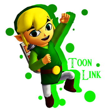 Toon Link by Jun-Himekawa